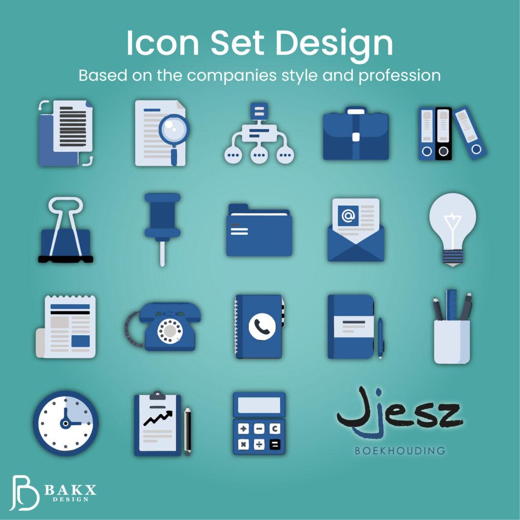 Icon Set Design Jjesz
