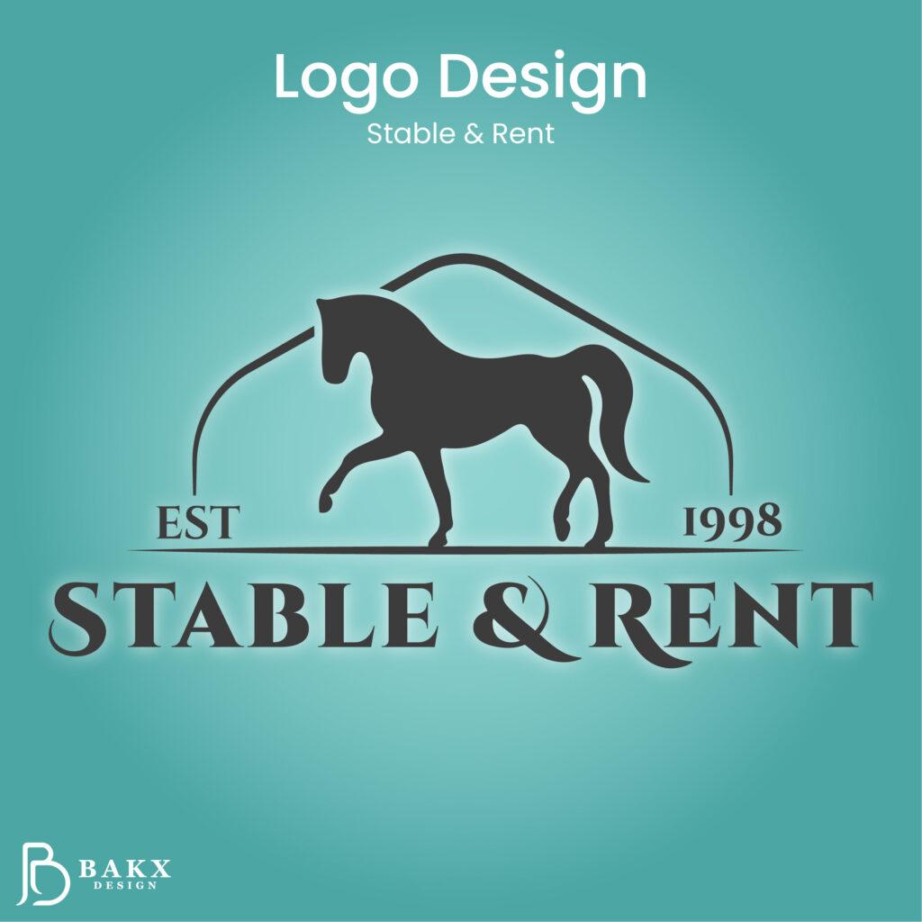 Logo Design Stable Rent