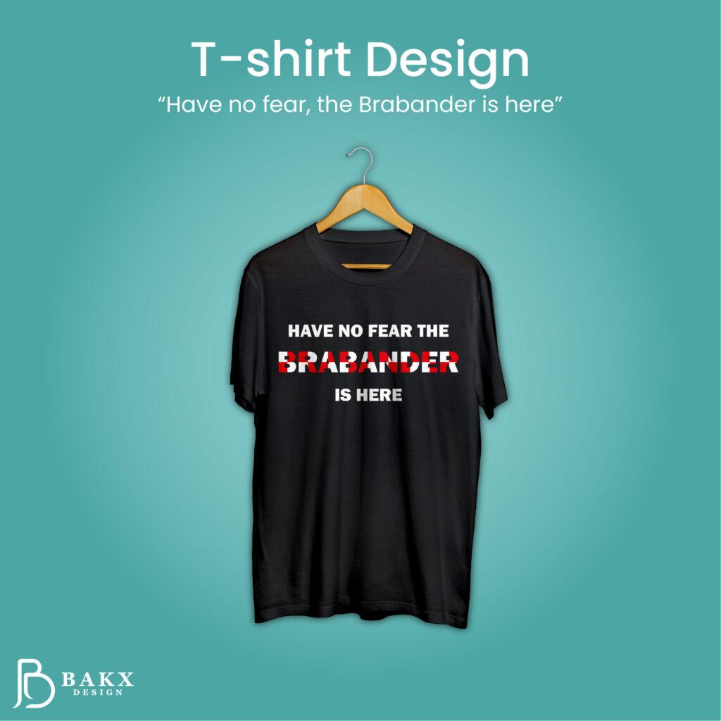 T shirt Design Brabant